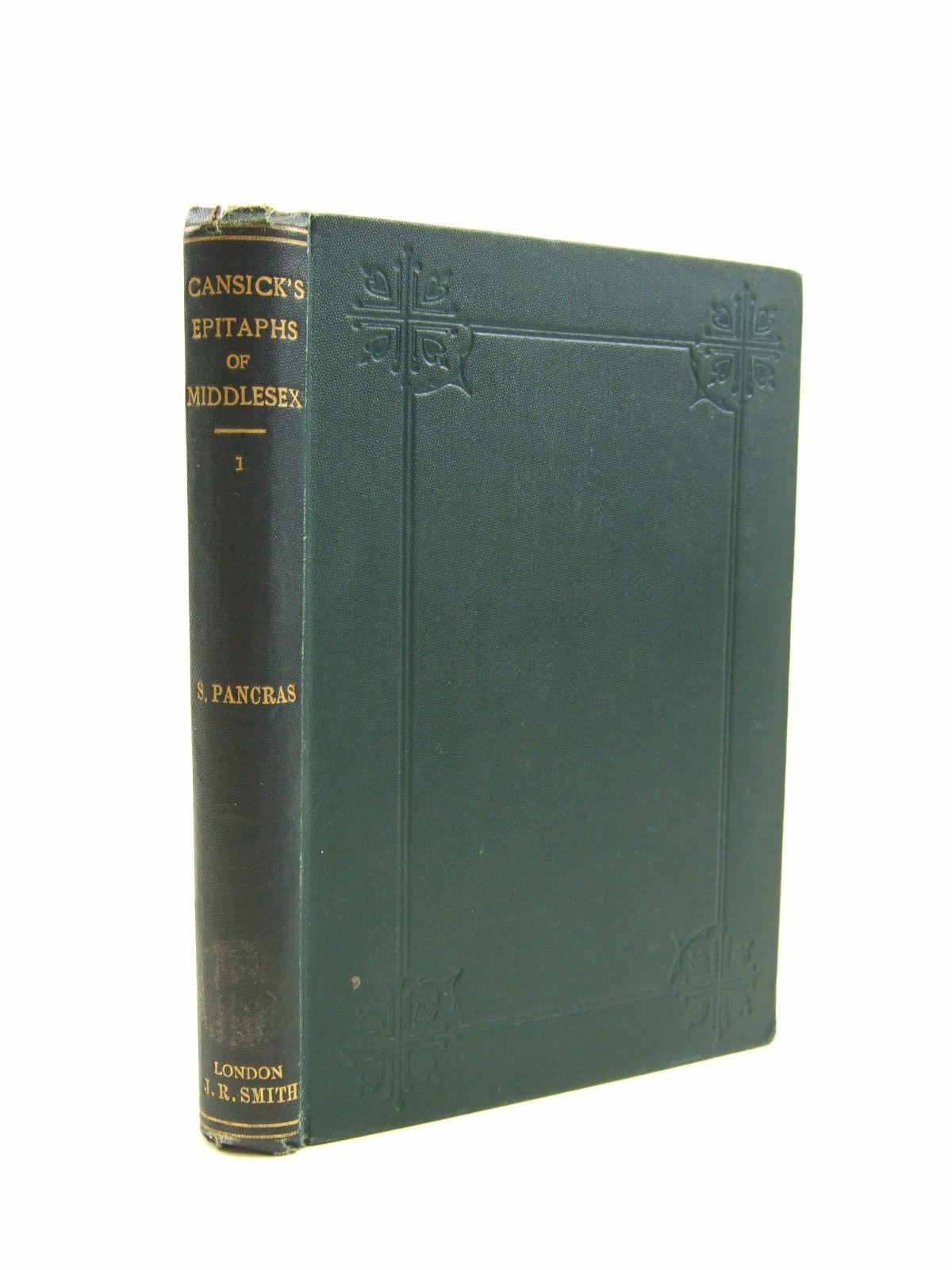 Photo of A COLLECTION OF CURIOUS AND INTERESTING EPITAPHS written by Cansick, Frederick Teague published by J. Russell Smith (STOCK CODE: 1207513)  for sale by Stella & Rose's Books