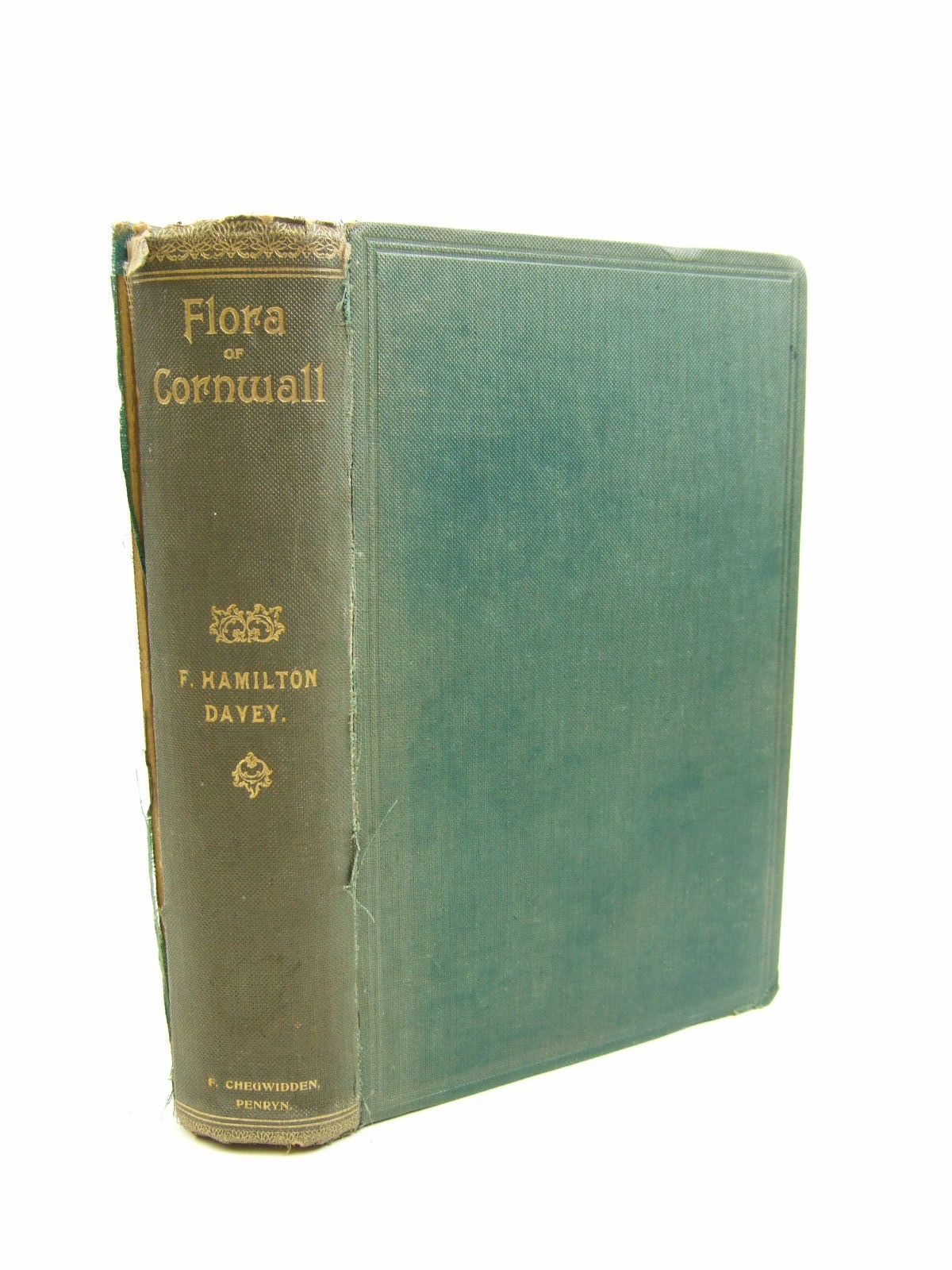 Photo of FLORA OF CORNWALL written by Davey, F. Hamilton published by F. Chegwidden (STOCK CODE: 1207535)  for sale by Stella & Rose's Books