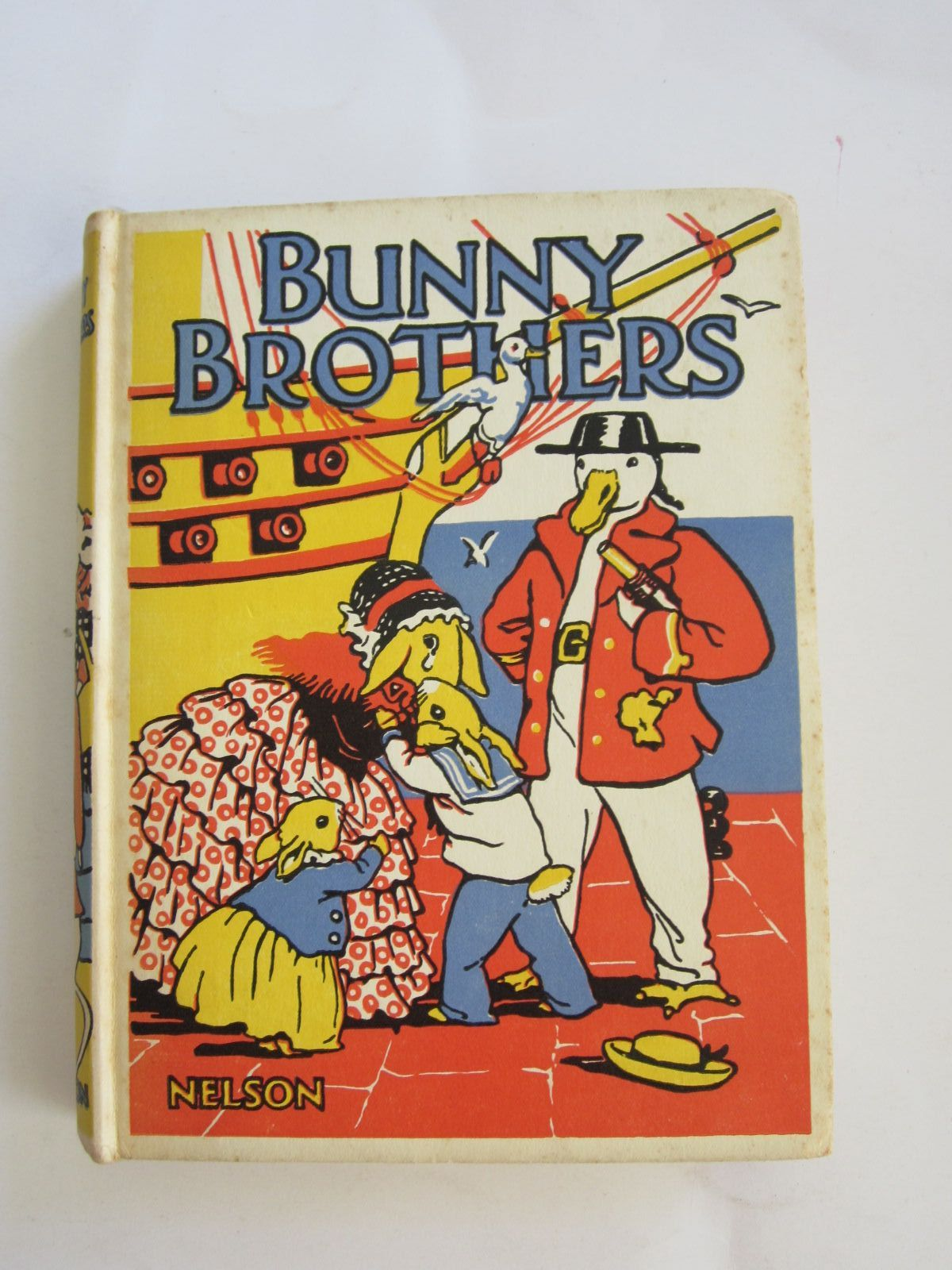 Photo of BUNNY BROTHERS written by Clayton, Jacqueline illustrated by Clayton, Margaret published by Thomas Nelson and Sons Ltd. (STOCK CODE: 1207641)  for sale by Stella & Rose's Books