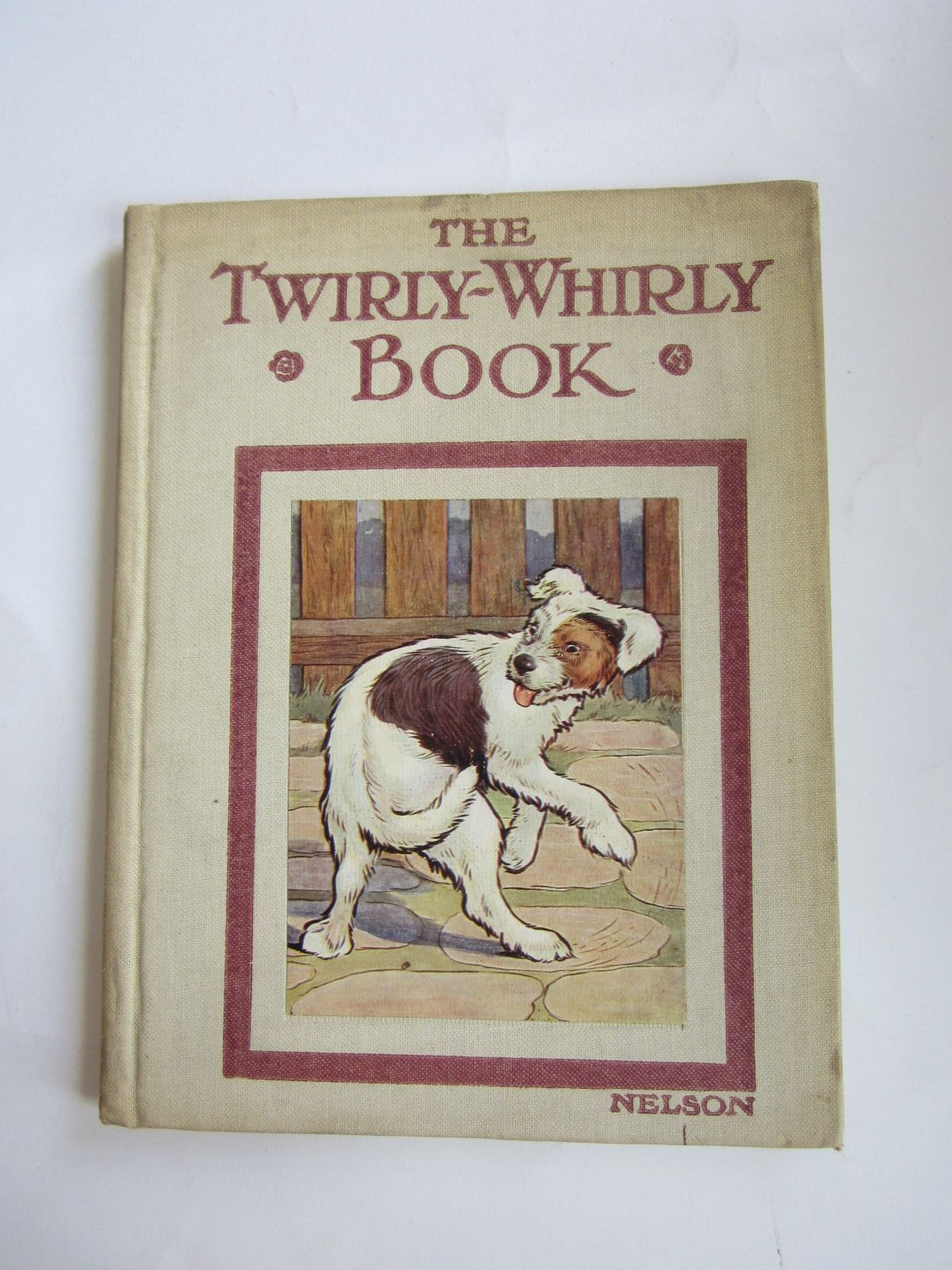 Photo of THE TWIRLY-WHIRLY BOOK written by Clayton, Jacqueline illustrated by Clayton, Margaret published by Thomas Nelson & Sons (STOCK CODE: 1207674)  for sale by Stella & Rose's Books
