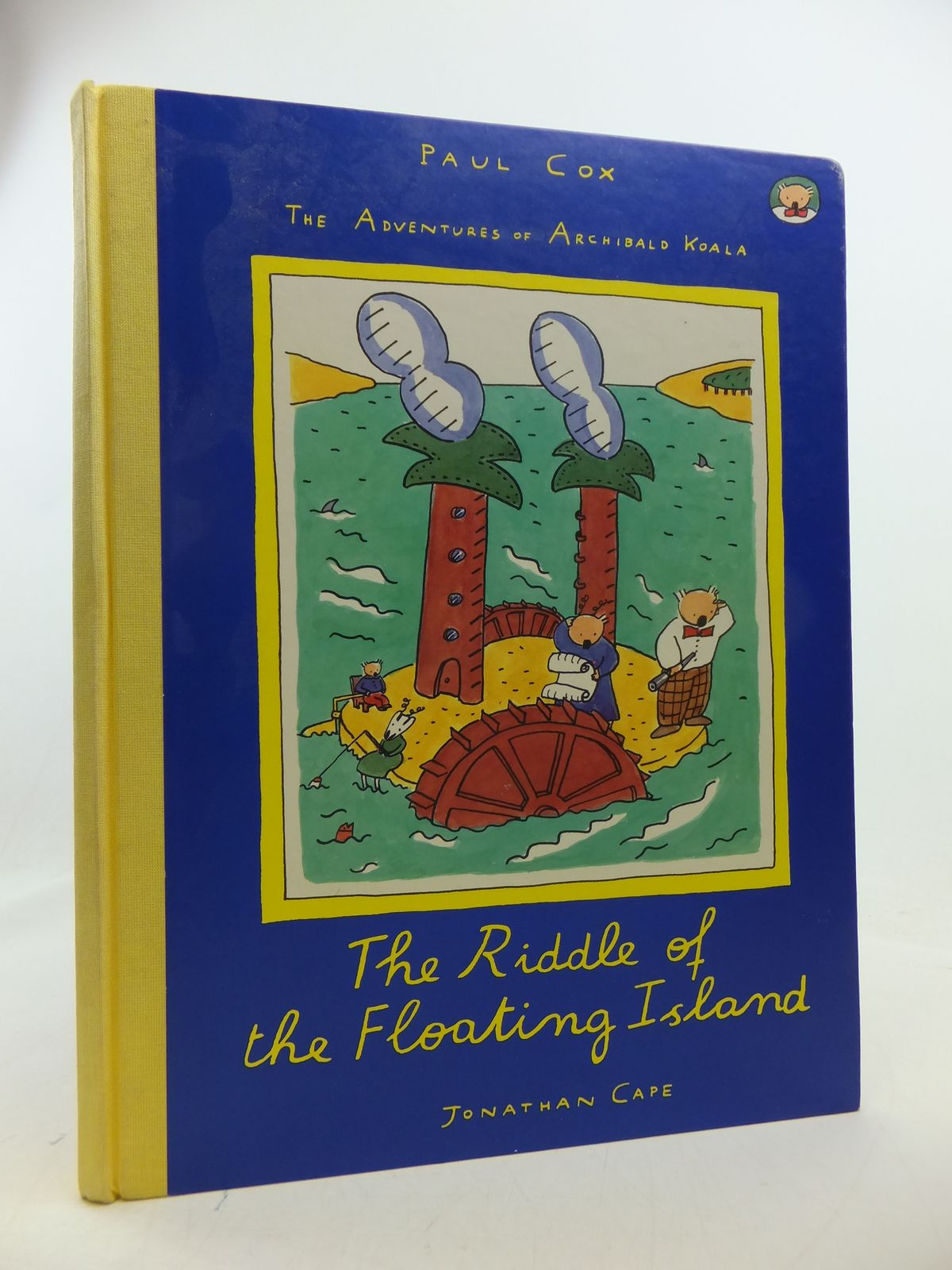 Photo of THE ADVENTURES OF ARCHIBALD KOALA - THE RIDDLE OF THE FLOATING ISLAND written by Cox, Paul illustrated by Cox, Paul published by Jonathan Cape (STOCK CODE: 1207823)  for sale by Stella & Rose's Books