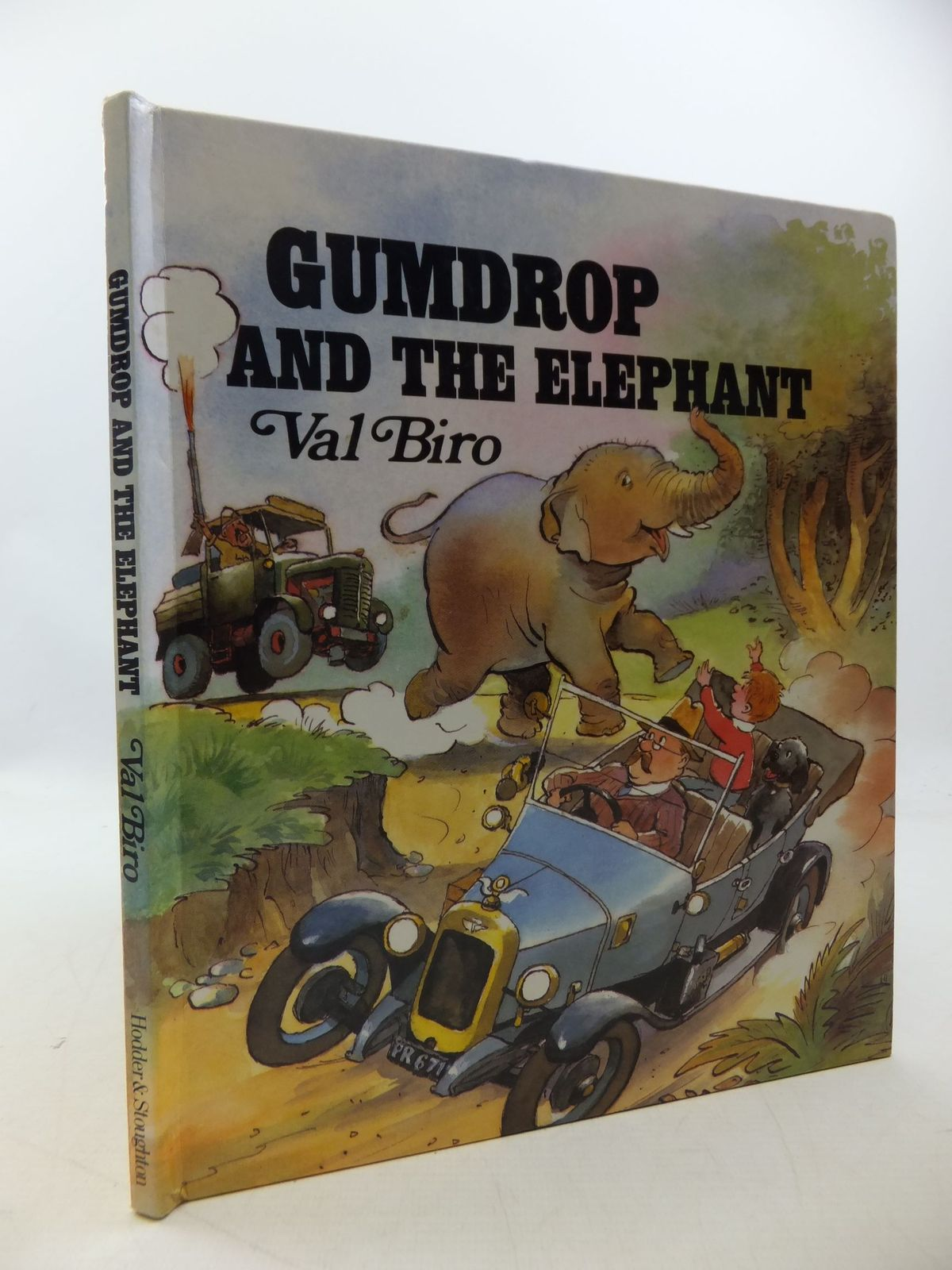 Photo of GUMDROP AND THE ELEPHANT written by Biro, Val illustrated by Biro, Val published by Hodder & Stoughton (STOCK CODE: 1207828)  for sale by Stella & Rose's Books