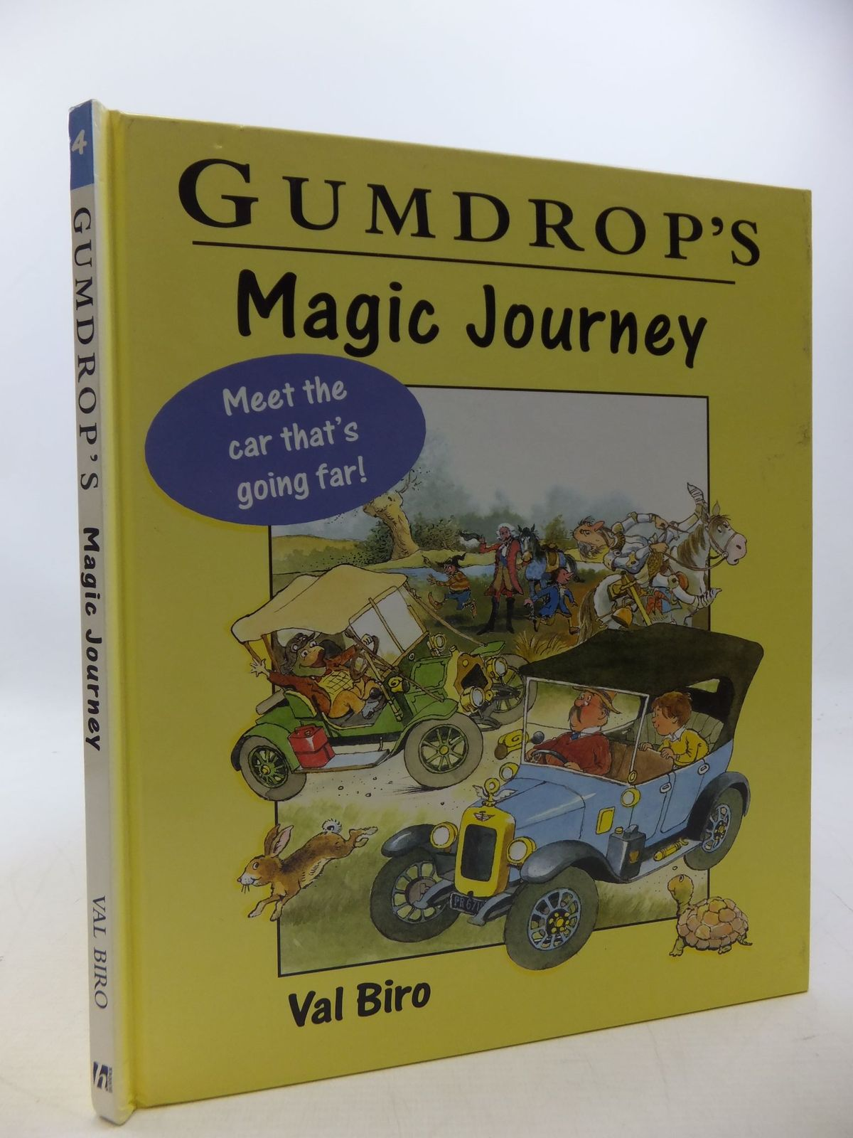 Photo of GUMDROP'S MAGIC JOURNEY written by Biro, Val illustrated by Biro, Val published by Hodder Children's Books (STOCK CODE: 1207829)  for sale by Stella & Rose's Books