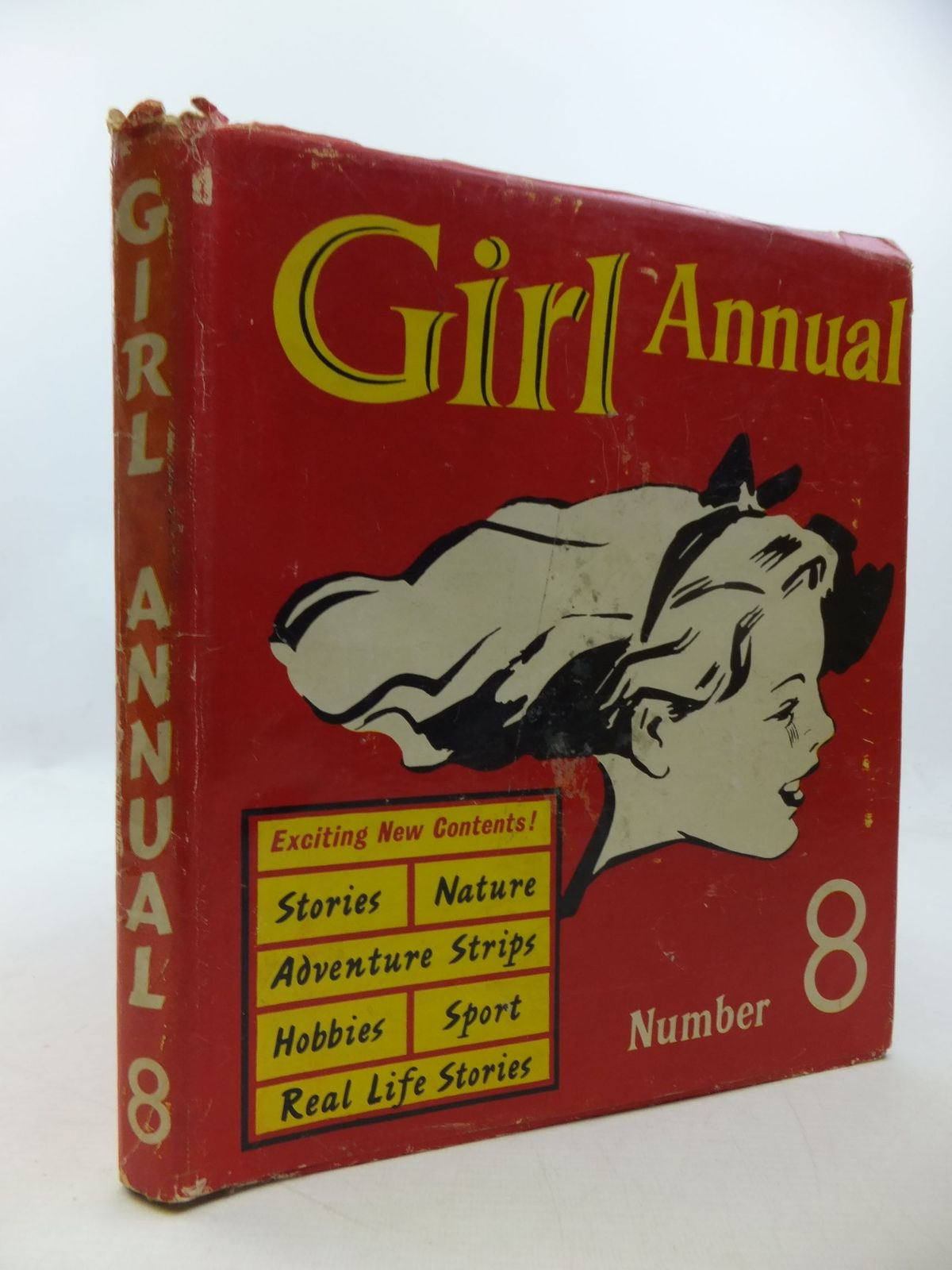 Photo of GIRL ANNUAL No. 8 written by Morris, Marcus published by Hulton Press Ltd. (STOCK CODE: 1207834)  for sale by Stella & Rose's Books