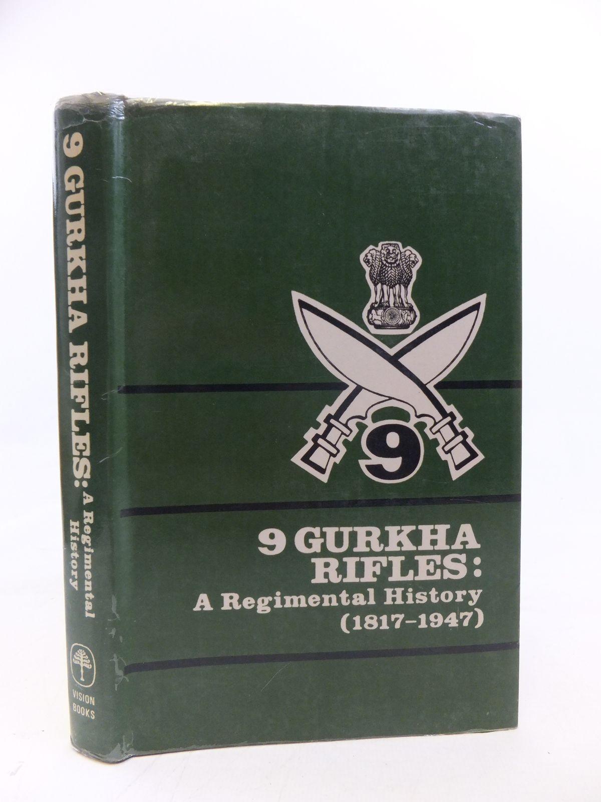 Photo of 9 GURKHA RIFLES A REGIMENTAL HISTORY (1817-1947) published by Vision Books (STOCK CODE: 1208097)  for sale by Stella & Rose's Books