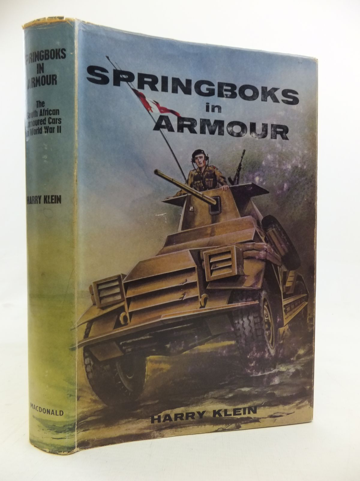 Photo of SPRINGBOKS IN ARMOUR written by Klein, Harry published by MacDonald (STOCK CODE: 1208099)  for sale by Stella & Rose's Books