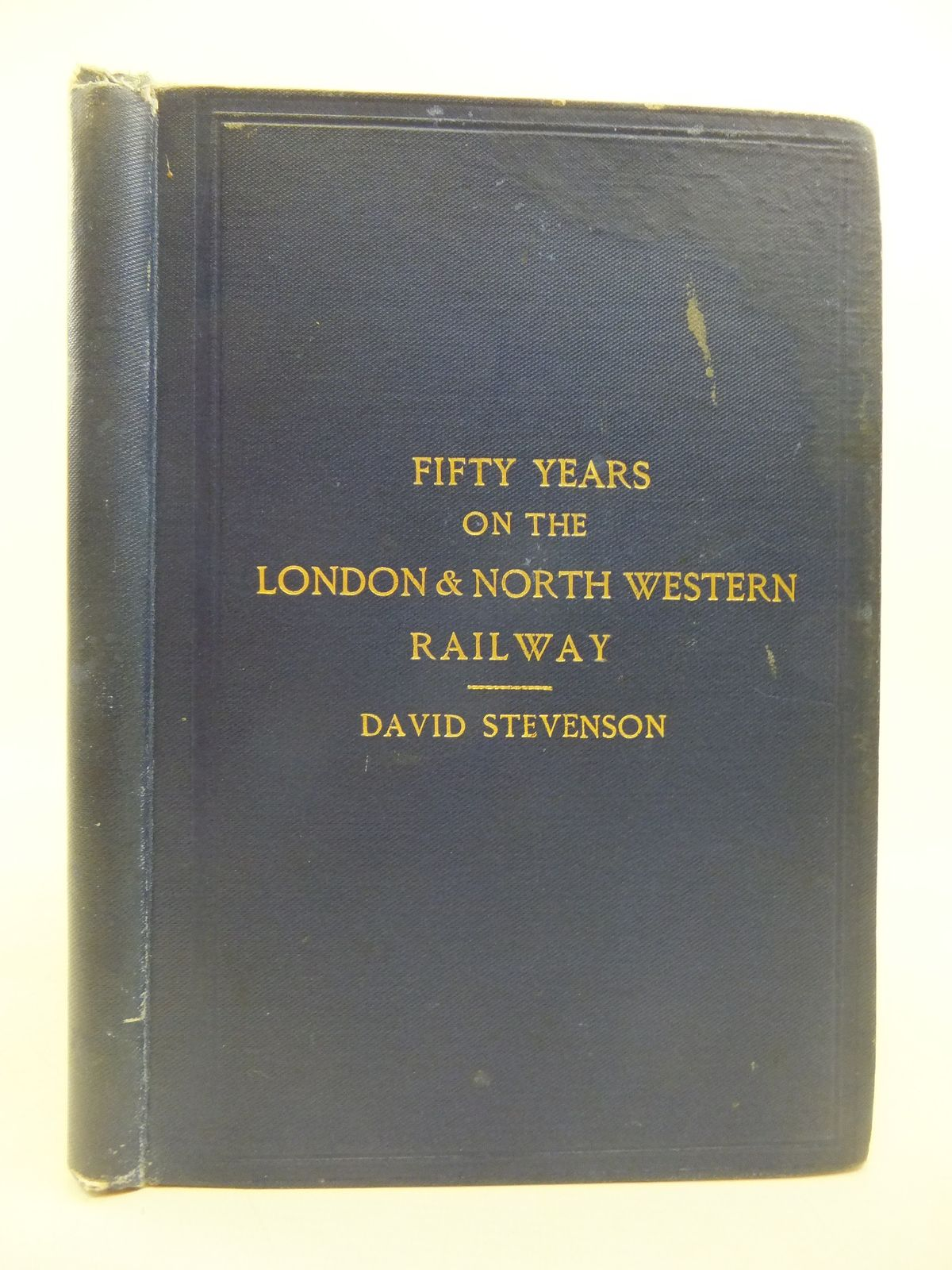 Photo of FIFTY YEARS ON THE LONDON & NORTH WESTERN RAILWAY written by Turner, Leopold<br />Stevenson, David published by McCorquodale & Co. Ltd. (STOCK CODE: 1208103)  for sale by Stella & Rose's Books