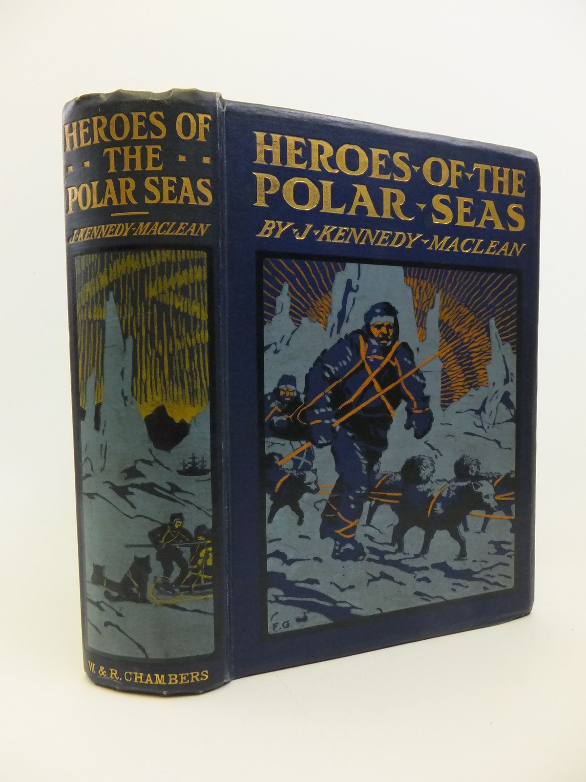 Photo of HEROES OF THE POLAR SEAS written by Maclean, J. Kennedy illustrated by Groome, W.H.C. published by W. & R. Chambers Limited (STOCK CODE: 1208215)  for sale by Stella & Rose's Books