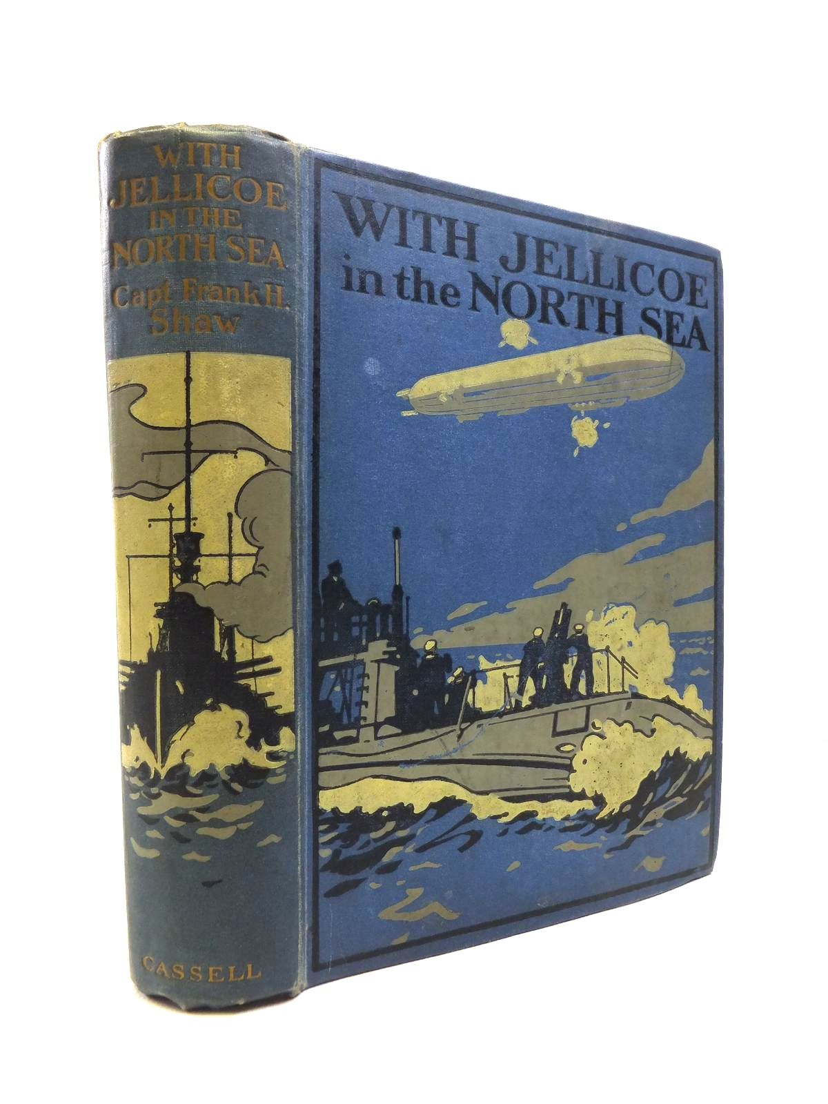 Photo of WITH JELLICOE IN THE NORTH SEA written by Shaw, Frank H. illustrated by Mason, J. published by Cassell & Company Ltd (STOCK CODE: 1208221)  for sale by Stella & Rose's Books