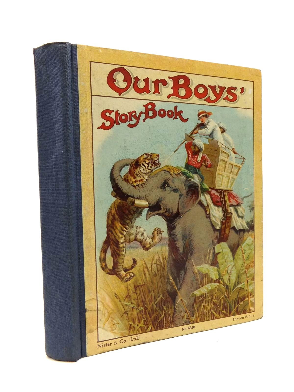 Photo of OUR BOYS' STORY BOOK written by Parry, D.H.<br />Weedon, L.L.<br />Fenn, George Manville<br />Knight, Arthur Lee<br />et al, published by Nister & Co. Ltd. (STOCK CODE: 1208227)  for sale by Stella & Rose's Books