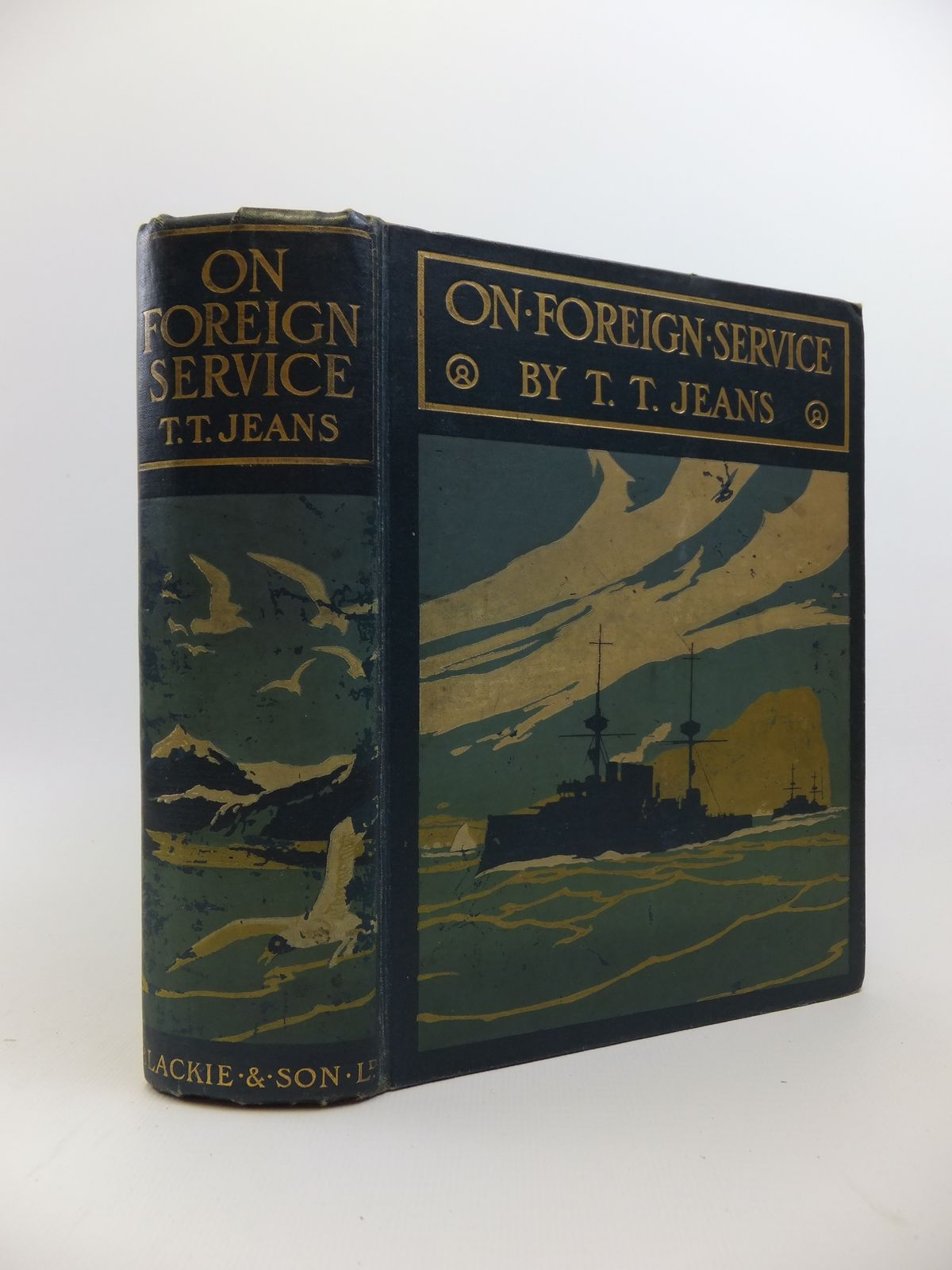Photo of ON FOREIGN SERVICE written by Jeans, T.T. illustrated by Rainey, William published by Blackie And Son Limited (STOCK CODE: 1208242)  for sale by Stella & Rose's Books