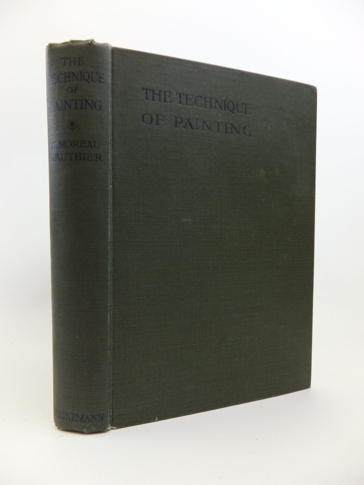Photo of THE TECHNIQUE OF PAINTING written by Moreau-Vauthier, Charles<br />Dinet Etienne, illustrated by Moreau, Jean Michel published by G.P. Putnam's Sons (STOCK CODE: 1208244)  for sale by Stella & Rose's Books