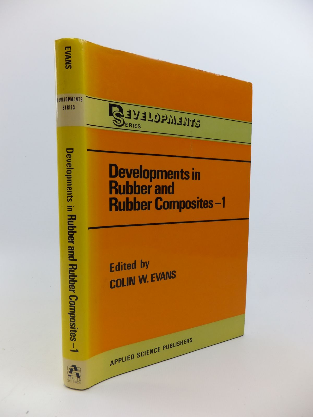 Photo of DEVELOPMENTS IN RUBBER AND RUBBER COMPOSITES 1 written by Evans, Colin W. published by Applied Science Publishers Ltd. (STOCK CODE: 1208247)  for sale by Stella & Rose's Books
