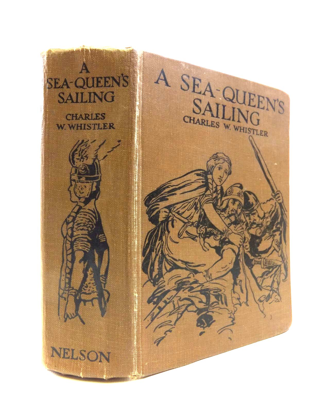 Photo of A SEA QUEEN'S SAILING written by Whistler, Charles W. published by Thomas Nelson and Sons Ltd. (STOCK CODE: 1208278)  for sale by Stella & Rose's Books
