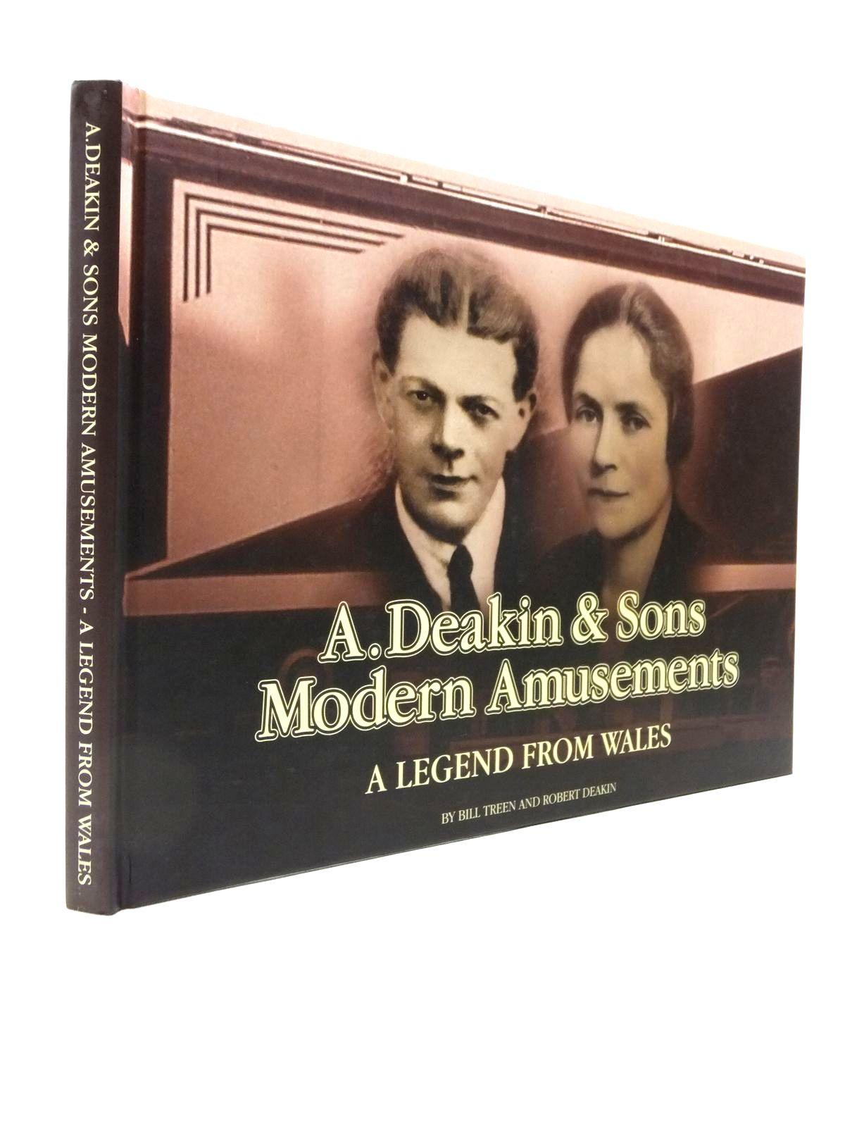Photo of A. DEAKIN & SONS MODERN AMUSEMENTS A LEGEND FROM WALES written by Treen, Bill<br />Deakin, Robert published by Forrest Print (STOCK CODE: 1208296)  for sale by Stella & Rose's Books