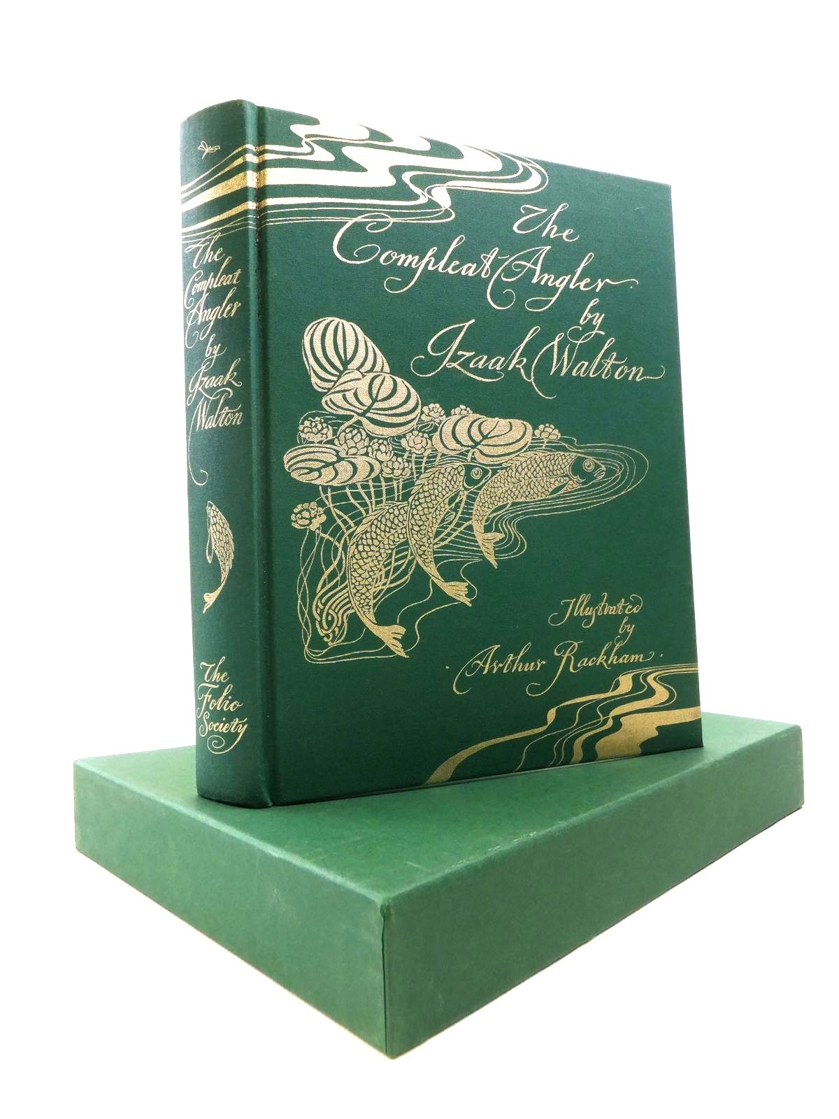 Photo of THE COMPLEAT ANGLER written by Walton, Izaak illustrated by Rackham, Arthur published by Folio Society (STOCK CODE: 1208298)  for sale by Stella & Rose's Books