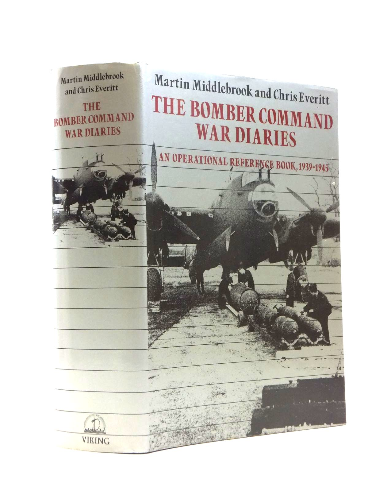 Photo of THE BOMBER COMMAND WAR DIARIES written by Middlebrook, Martin<br />Everitt, Chris published by Viking (STOCK CODE: 1208425)  for sale by Stella & Rose's Books