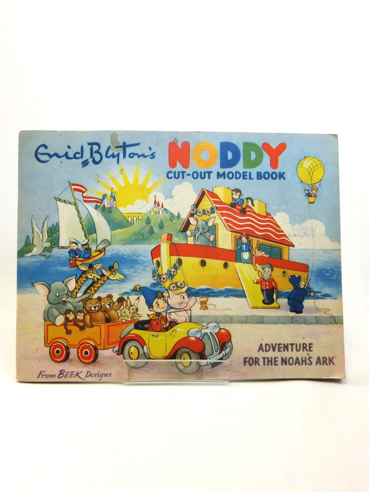 Photo of NODDY CUT-OUT MODEL BOOK ADVENTURE FOR THE NOAH'S ARK