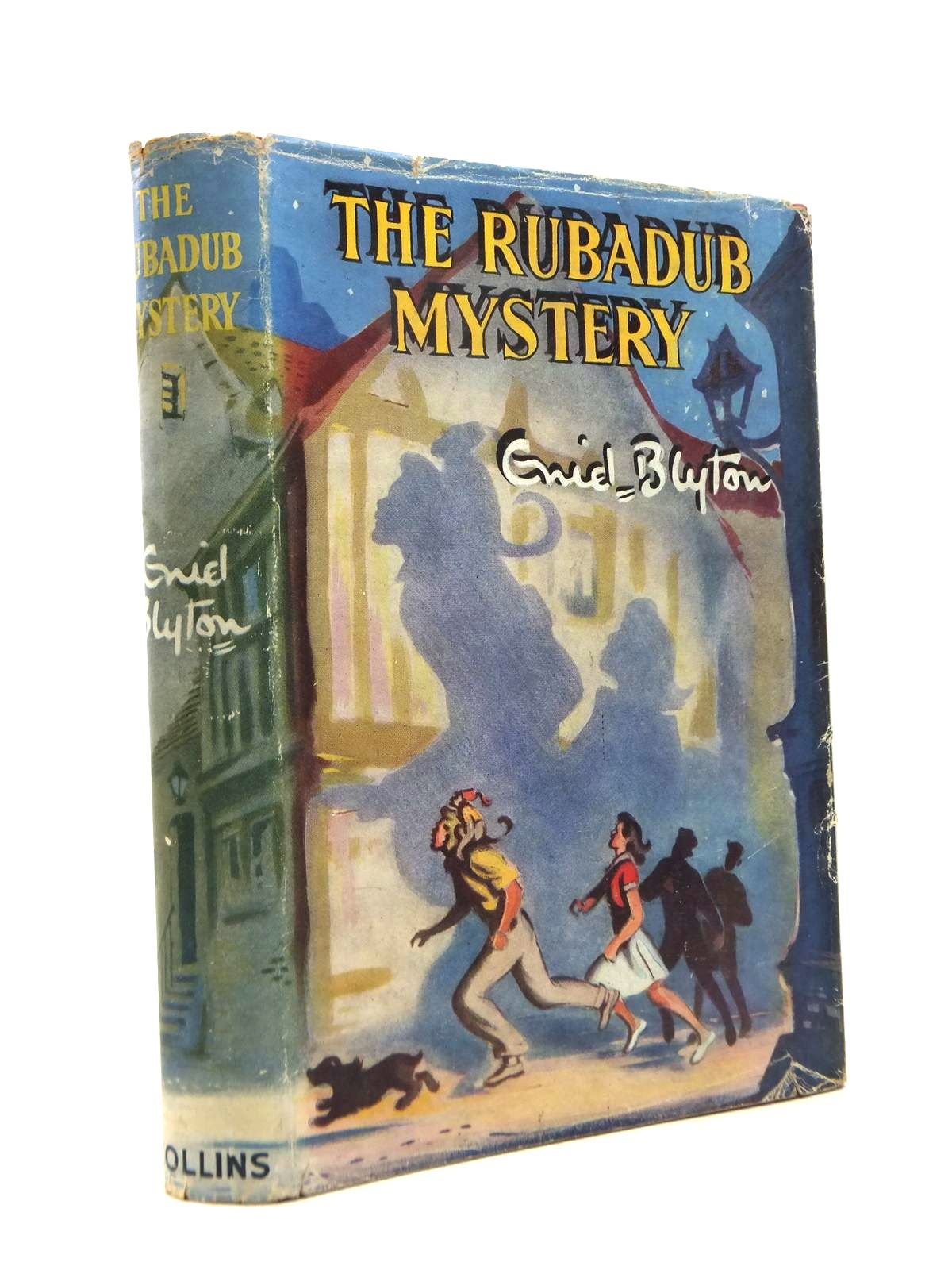 Photo of THE RUBADUB MYSTERY written by Blyton, Enid illustrated by Dunlop, Gilbert published by Collins (STOCK CODE: 1208486)  for sale by Stella & Rose's Books