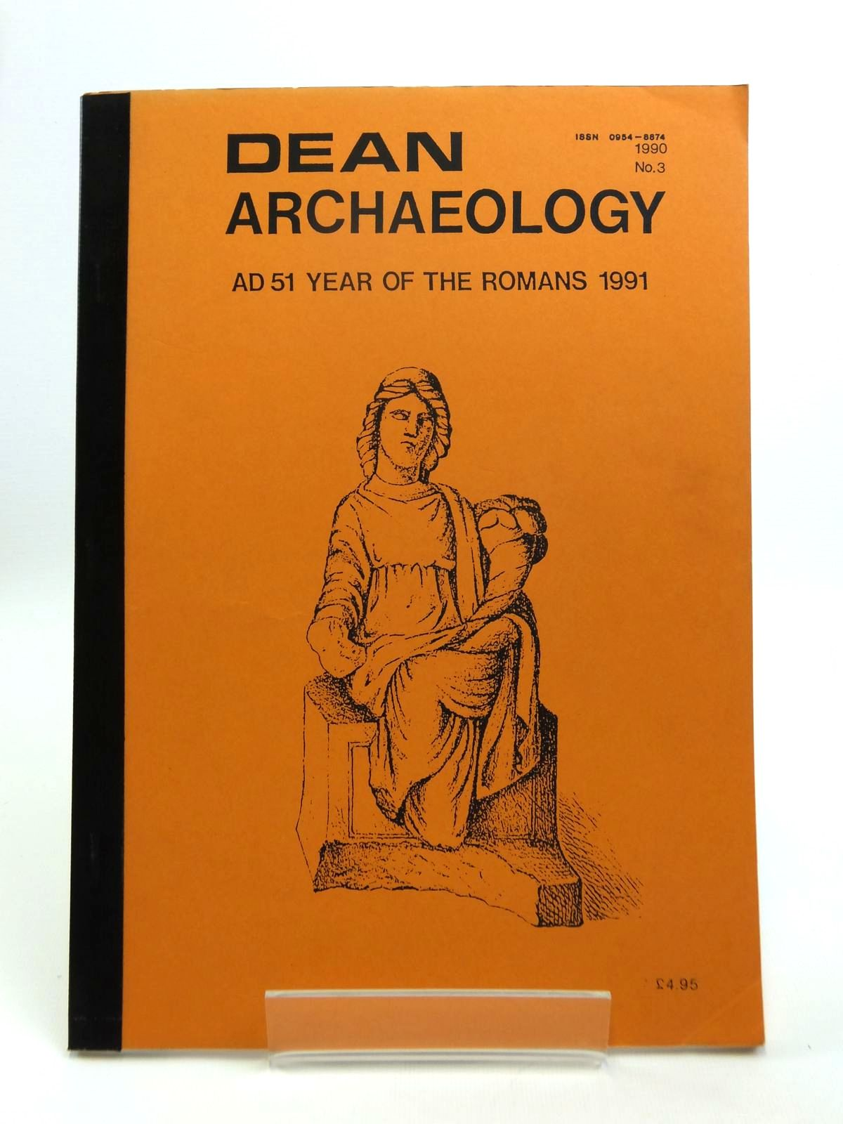 Photo of DEAN ARCHAEOLOGY No. 3 published by Dean Archaeological Group (STOCK CODE: 1208504)  for sale by Stella & Rose's Books