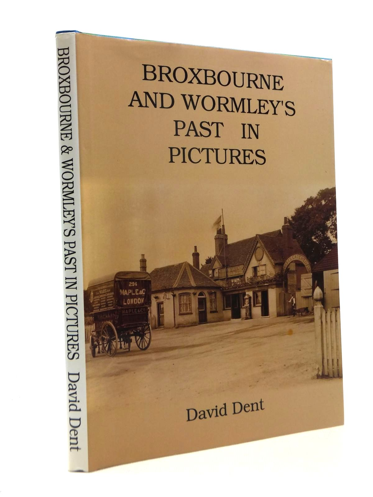 Photo of BROXBOURNE AND WORMLEY'S PAST IN PICTURES written by Dent, David published by The Rockingham Press (STOCK CODE: 1208603)  for sale by Stella & Rose's Books