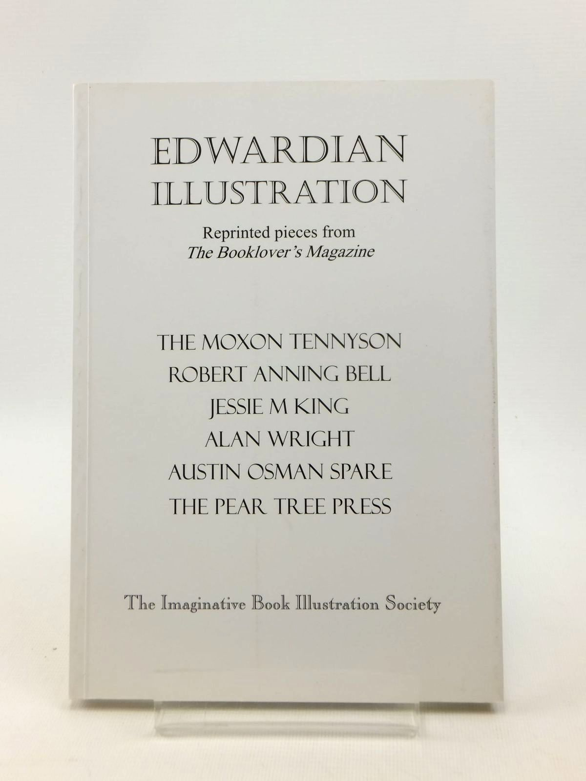 Photo of EDWARDIAN ILLUSTRATION written by Steenson, Martin<br />Hardie, Martin<br />Dennis, G.R.<br />et al, published by The Imaginative Book Illustration Society (STOCK CODE: 1208608)  for sale by Stella & Rose's Books