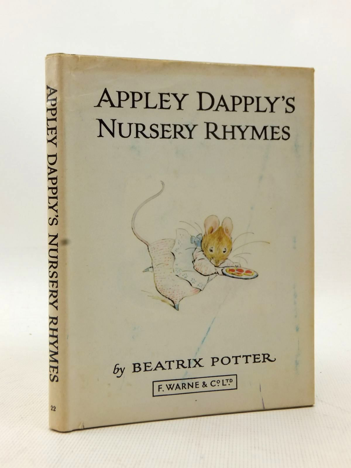 Photo of APPLEY DAPPLY'S NURSERY RHYMES written by Potter, Beatrix illustrated by Potter, Beatrix published by Frederick Warne & Co Ltd. (STOCK CODE: 1208652)  for sale by Stella & Rose's Books