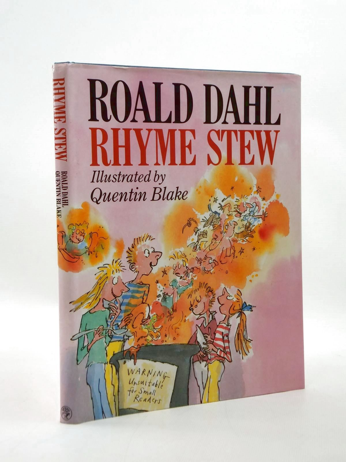 Photo of RHYME STEW written by Dahl, Roald illustrated by Blake, Quentin published by Jonathan Cape (STOCK CODE: 1208715)  for sale by Stella & Rose's Books