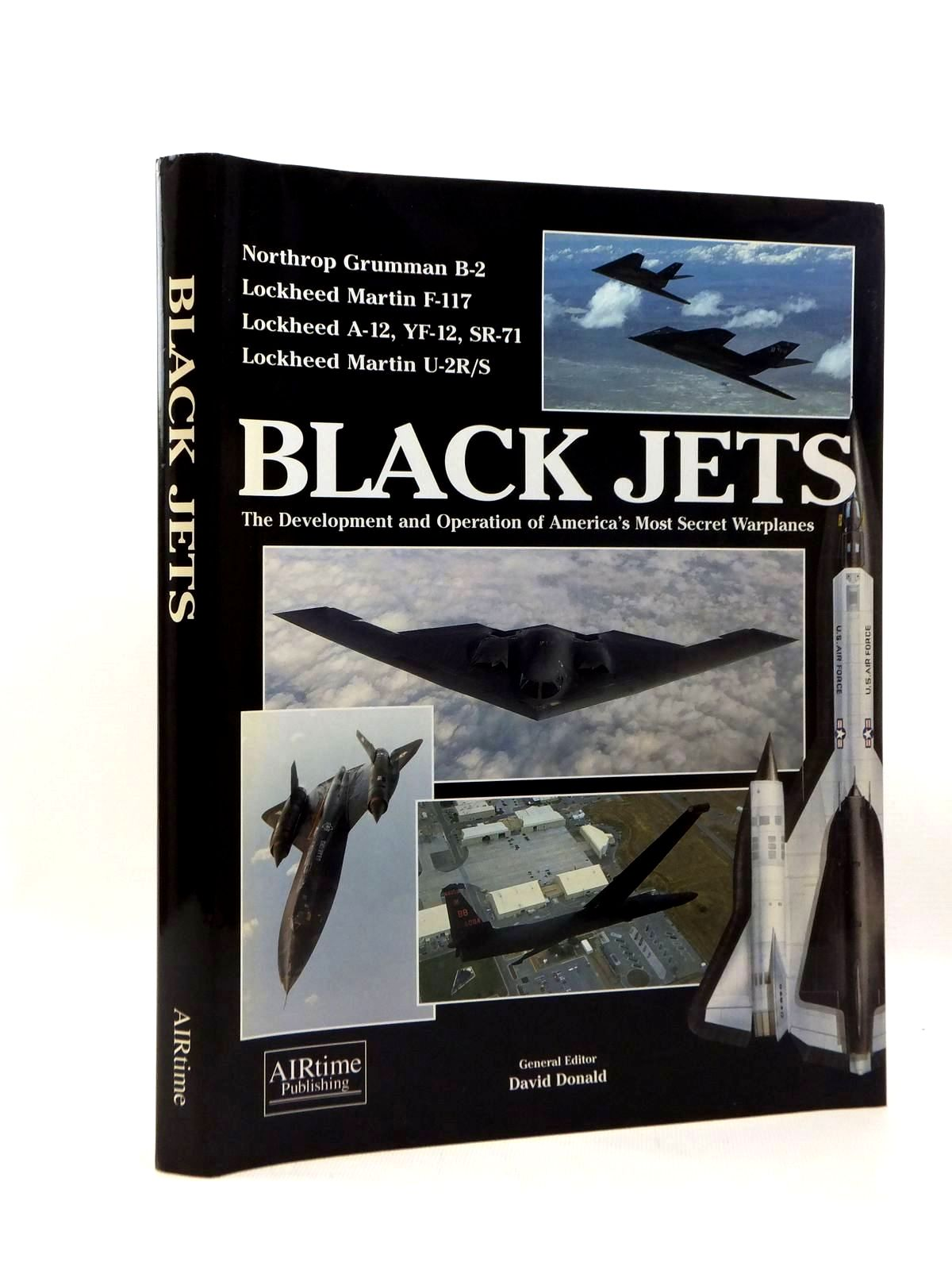 Photo of BLACK JETS written by Donald, David published by Airtime Publishing Inc. (STOCK CODE: 1208730)  for sale by Stella & Rose's Books