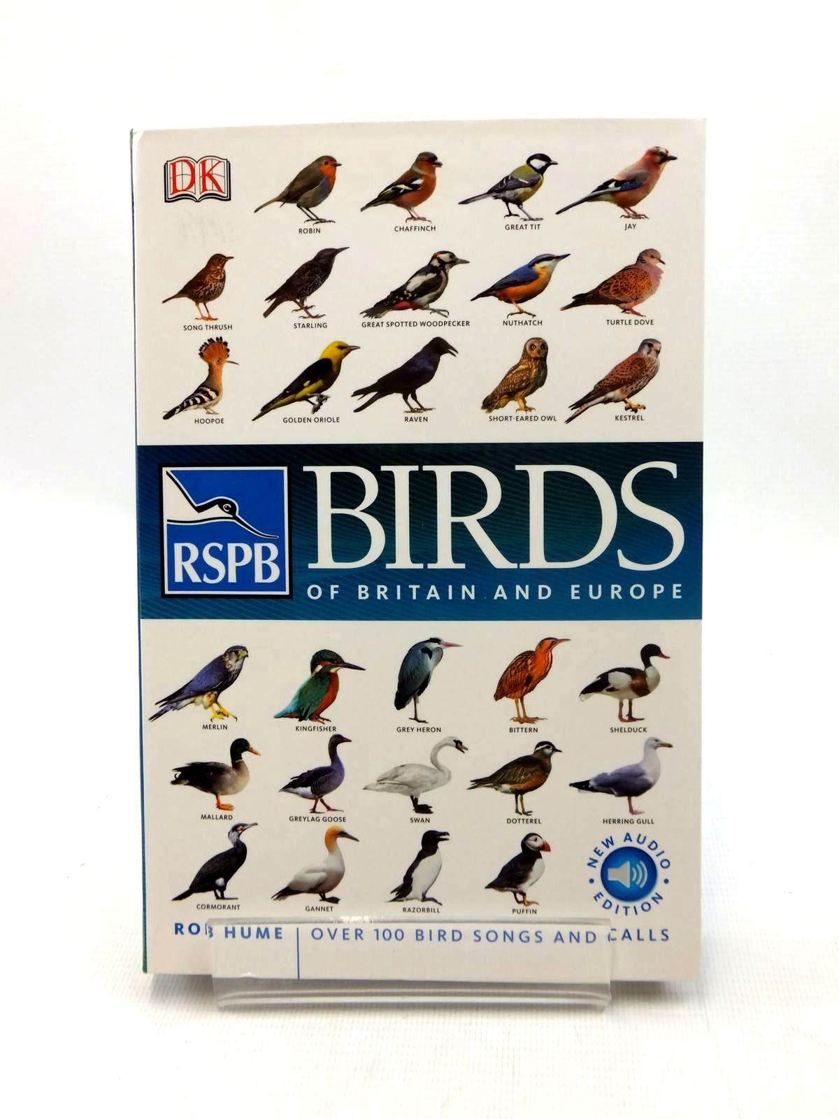 Photo of RSPB BIRDS OF BRITAIN AND EUROPE written by Hume, Rob published by Dorling Kindersley (STOCK CODE: 1208760)  for sale by Stella & Rose's Books