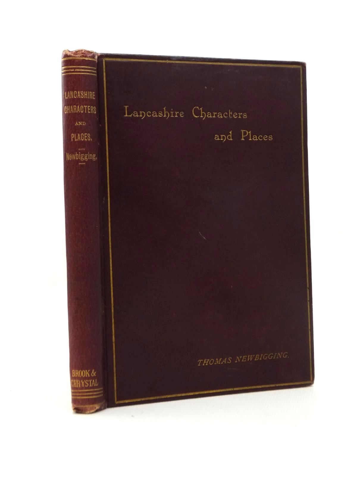 Photo of LANCASHIRE CHARACTERS AND PLACES written by Newbigging, Thomas published by Simpkin, Marshall & Co. (STOCK CODE: 1208782)  for sale by Stella & Rose's Books