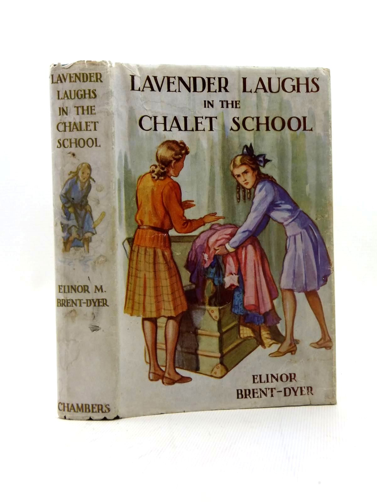 Photo of LAVENDER LAUGHS IN THE CHALET SCHOOL written by Brent-Dyer, Elinor M. illustrated by Brisley, Nina K. published by W. & R. Chambers Limited (STOCK CODE: 1208795)  for sale by Stella & Rose's Books