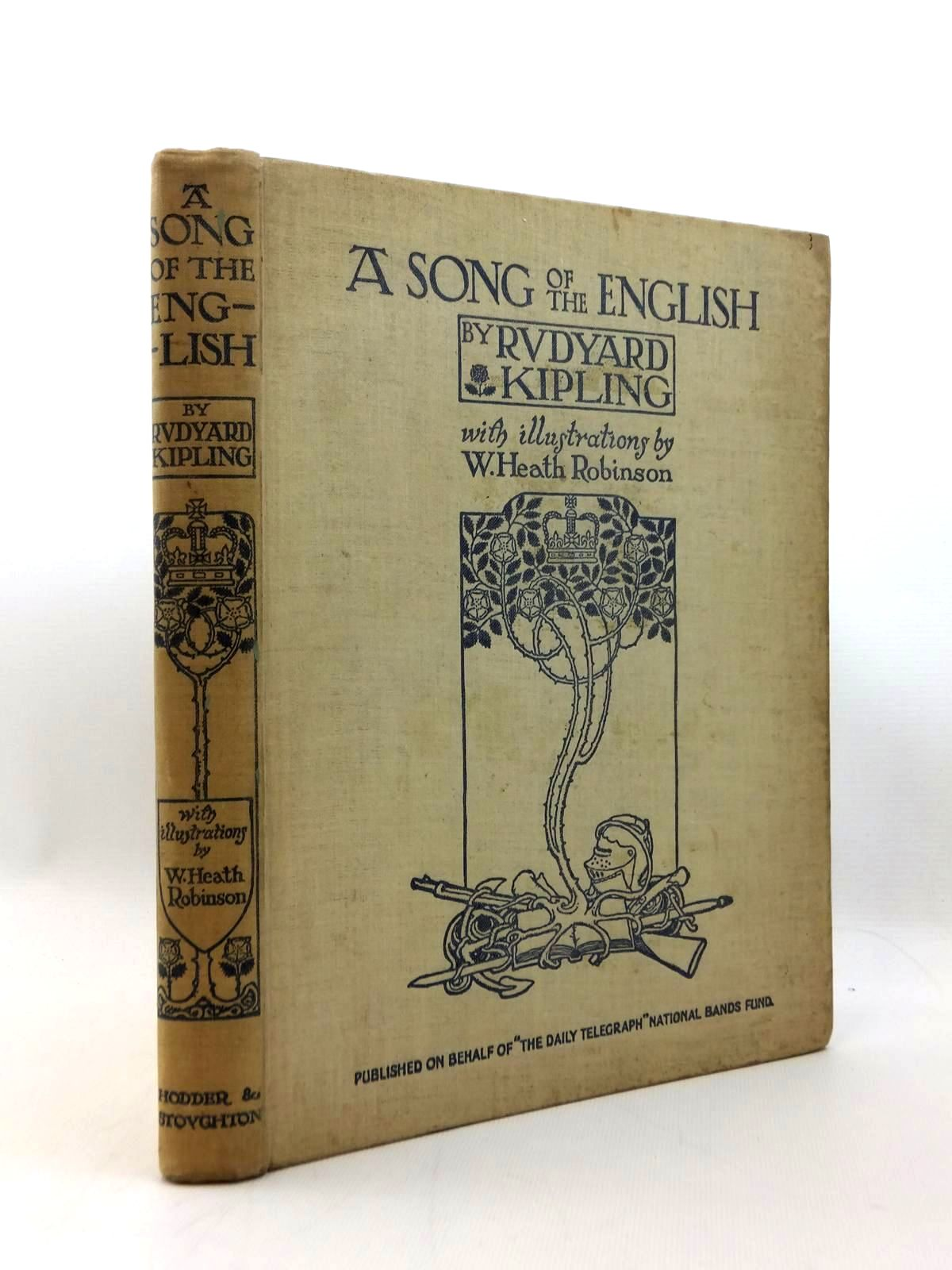 Photo of A SONG OF THE ENGLISH written by Kipling, Rudyard illustrated by Robinson, W. Heath published by Hodder & Stoughton (STOCK CODE: 1208800)  for sale by Stella & Rose's Books