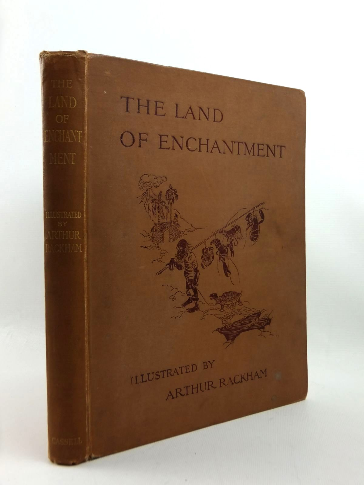 Photo of THE LAND OF ENCHANTMENT written by Bonser, A.E.<br />Woolf, Sidney<br />Bucheim, E.S. illustrated by Rackham, Arthur published by Cassell & Co. Ltd. (STOCK CODE: 1208805)  for sale by Stella & Rose's Books