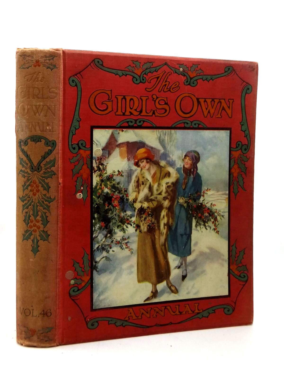 Photo of GIRL'S OWN VOL 46 (Ed Flora Klickmann) written by Klickmann, Flora<br />Inchfawn, Fay<br />Richmond, Grace<br />et al, illustrated by Hickling, P.B.<br />Earnshaw, Elizabeth<br />Angell, Maude<br />et al., published by William Clowes & Sons (STOCK CODE: 1208824)  for sale by Stella & Rose's Books