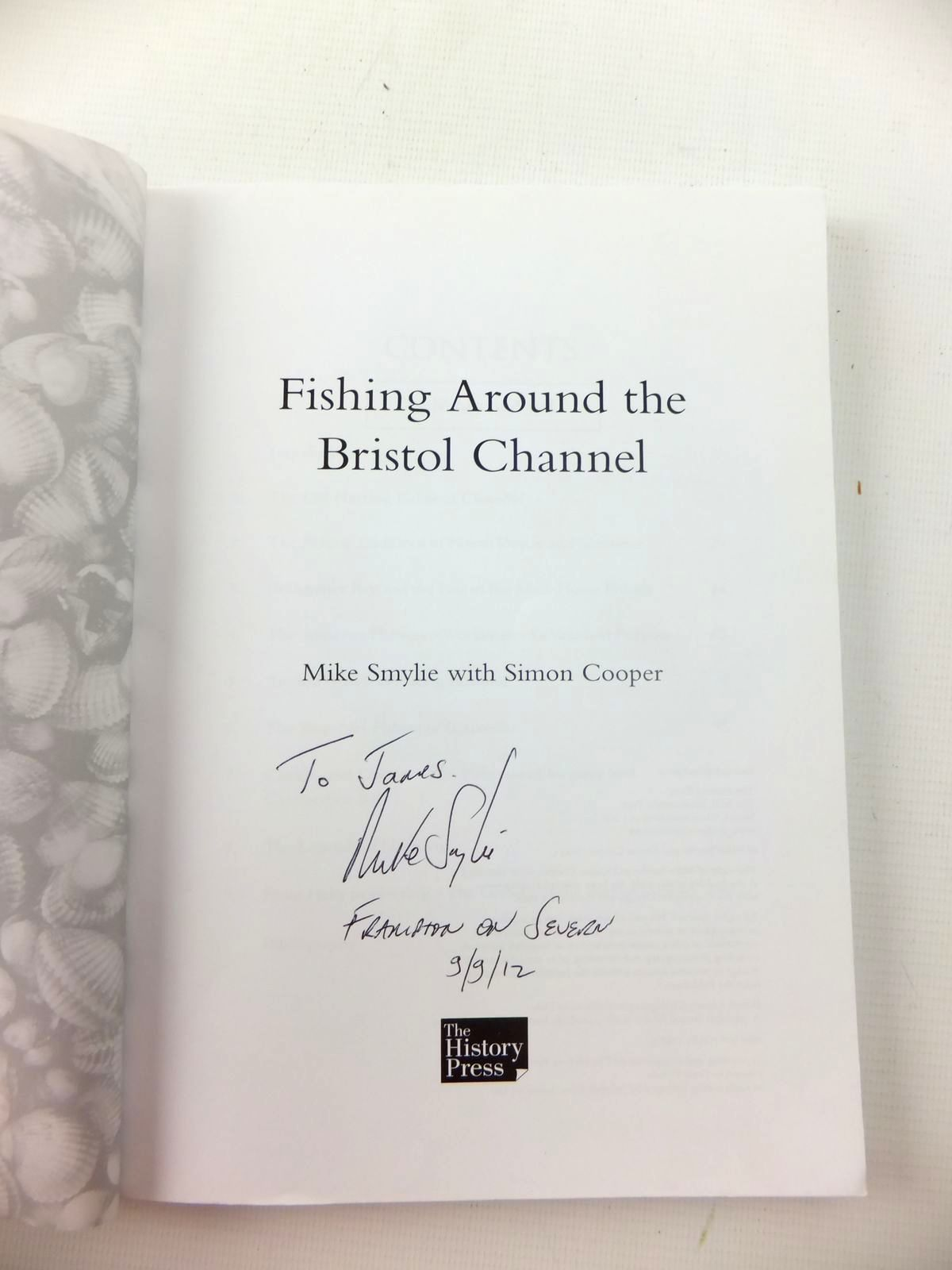 Photo of FISHING AROUND THE BRISTOL CHANNEL written by Smylie, Mike<br />Cooper, Simon published by The History Press (STOCK CODE: 1208856)  for sale by Stella & Rose's Books