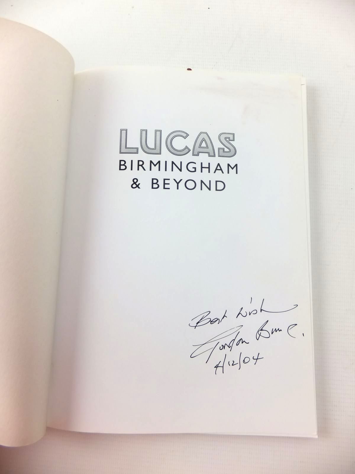 Photo of LUCAS BIRMINGHAM AND BEYOND written by Bunce, Gordon published by Sutton Publishing (STOCK CODE: 1208877)  for sale by Stella & Rose's Books