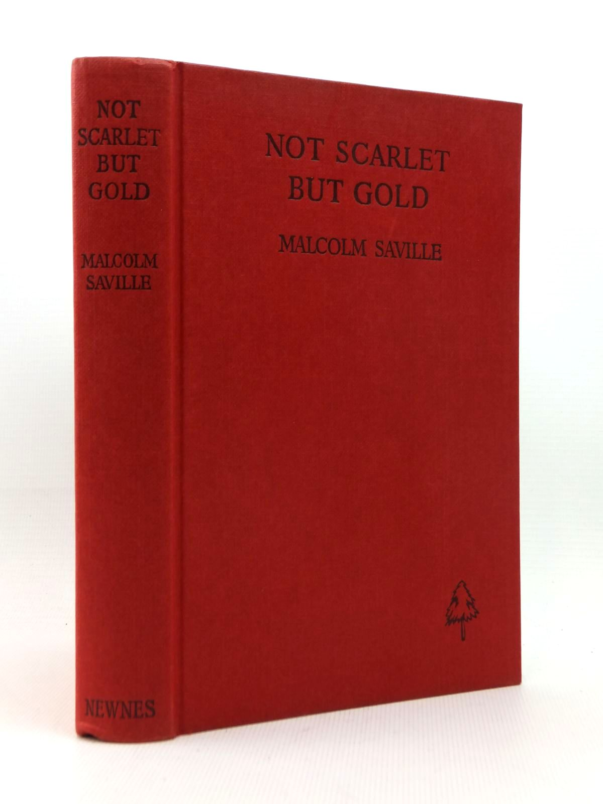 Photo of NOT SCARLET BUT GOLD written by Saville, Malcolm illustrated by Whitear, A.R. published by George Newnes Limited (STOCK CODE: 1208886)  for sale by Stella & Rose's Books