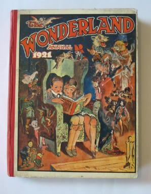 Photo of THE WONDERLAND ANNUAL 1921 published by The Amalgamated Press (STOCK CODE: 1301426)  for sale by Stella & Rose's Books