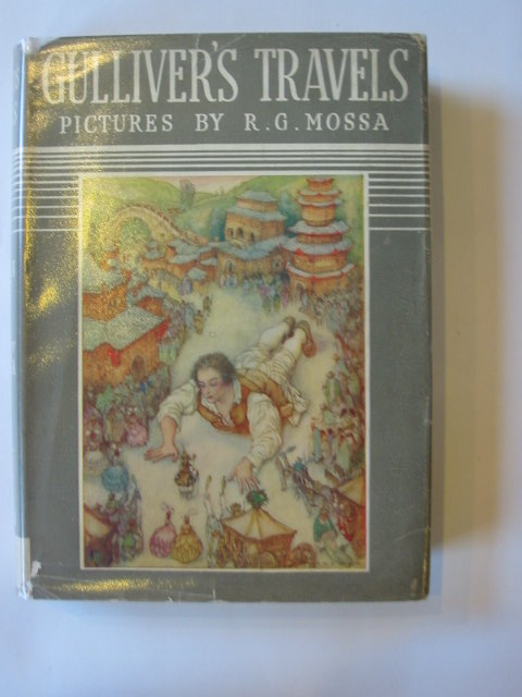 Photo of GULLIVER'S TRAVELS TO LILLIPUT AND BROBDINGNAG written by Swift, Jonathan illustrated by Mossa, R.G. published by Hodder & Stoughton (STOCK CODE: 1303314)  for sale by Stella & Rose's Books