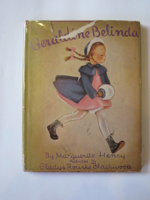 Photo of GERALDINE BELINDA written by Henry, Marguerite illustrated by Blackwood, Gladys Rourke published by Platt & Munk Publishers (STOCK CODE: 1303380)  for sale by Stella & Rose's Books