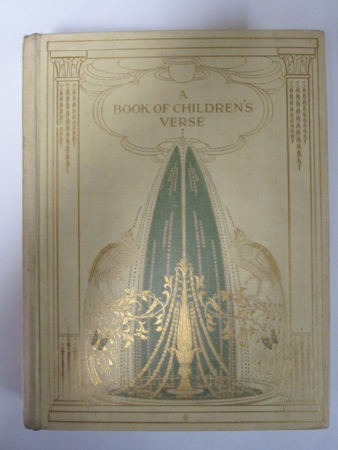 Photo of A BOOK OF CHILDREN'S VERSE written by Quiller-Couch, Mabel<br />Quiller-Couch, Lilian illustrated by Gray, M. Etheldreda published by Oxford University Press (STOCK CODE: 1303561)  for sale by Stella & Rose's Books