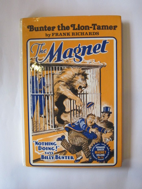 Photo of BUNTER THE LION-TAMER written by Richards, Frank published by Howard Baker (STOCK CODE: 1304269)  for sale by Stella & Rose's Books
