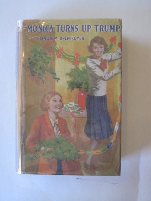 Photo of MONICA TURNS UP TRUMPS written by Brent-Dyer, Elinor M. published by Lutterworth Press (STOCK CODE: 1304452)  for sale by Stella & Rose's Books
