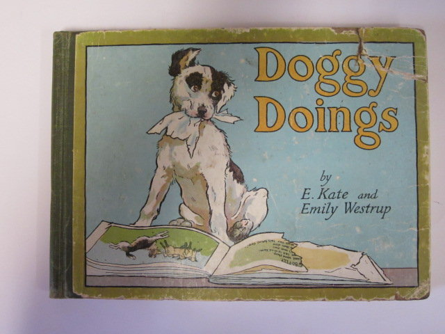Photo of DOGGY DOINGS written by Westrup, Emily illustrated by Westrup, E. Kate published by Blackie & Son Ltd. (STOCK CODE: 1305080)  for sale by Stella & Rose's Books