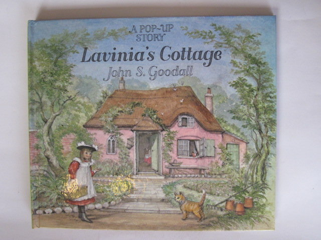 Photo of LAVINIA'S COTTAGE illustrated by Goodall, John S. published by Macmillan Children's Books (STOCK CODE: 1305190)  for sale by Stella & Rose's Books