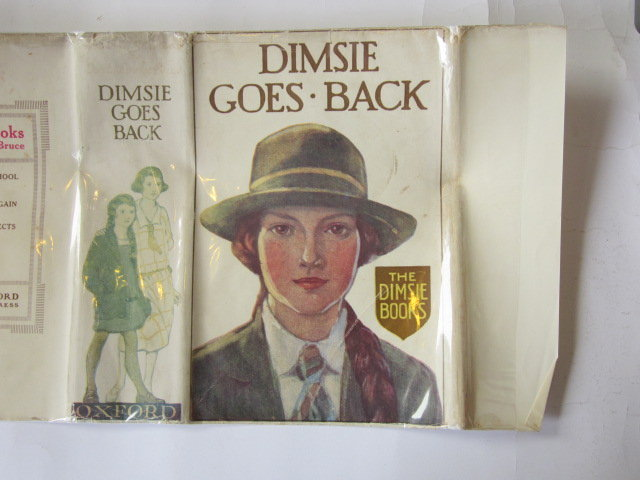 Photo of DIMSIE GOES BACK written by Bruce, Dorita Fairlie illustrated by Reeve, Mary Strange published by Oxford University Press, Humphrey Milford (STOCK CODE: 1305437)  for sale by Stella & Rose's Books