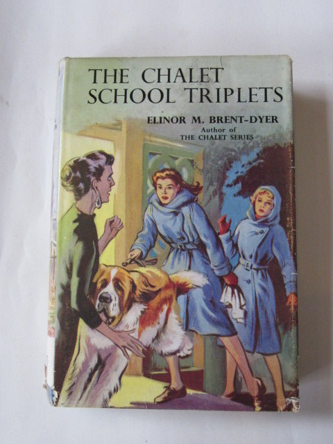 Photo of THE CHALET SCHOOL TRIPLETS written by Brent-Dyer, Elinor M. illustrated by Brook, D. published by W. & R. Chambers Limited (STOCK CODE: 1306129)  for sale by Stella & Rose's Books