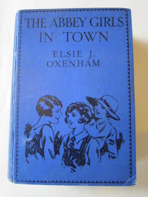 Photo of THE ABBEY GIRLS IN TOWN written by Oxenham, Elsie J. illustrated by Petherick, Rosa C. published by Collins Clear-Type Press (STOCK CODE: 1306231)  for sale by Stella & Rose's Books