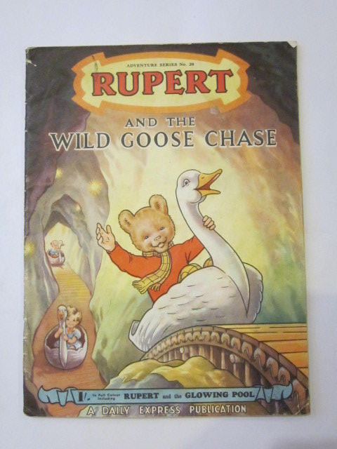 Photo of RUPERT ADVENTURE SERIES No. 20 - RUPERT AND THE WILD GOOSE CHASE written by Bestall, Alfred illustrated by Bestall, Alfred published by Daily Express (STOCK CODE: 1306447)  for sale by Stella & Rose's Books